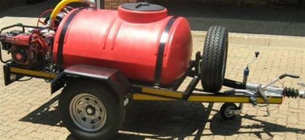750 Liter Medium Pressure Fire Fighter Trailer Specifications security products in  (South Africa)