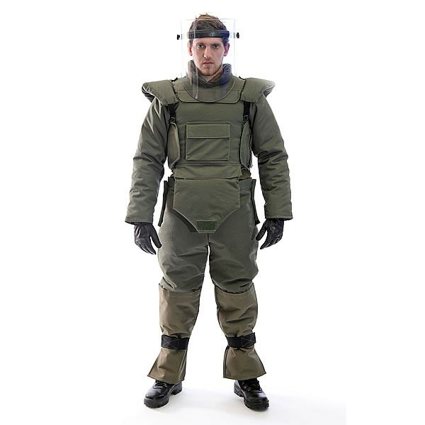 Demining Suit security products in  (South Africa)
