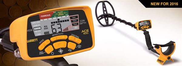 Garrett ACE 400i Metal Detector security products in  (South Africa)