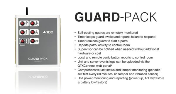 Guard-Pack security products in  (South Africa)