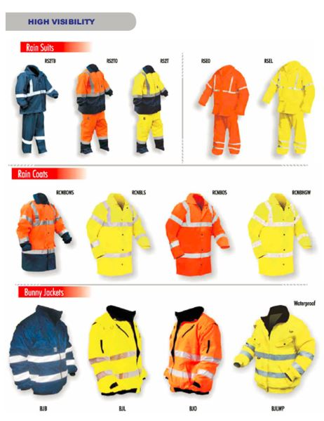 High Visibility Wear security products in  (South Africa)