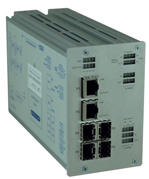 INDUSTRIAL MULTI-SERVICE ETHERNET SWITCH SERIES