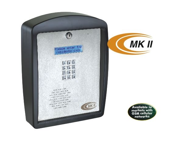 MKII - CELLULAR NETWORK-BASED MULTI-UNIT INTERCOM SYSTEM security products in  (South Africa)