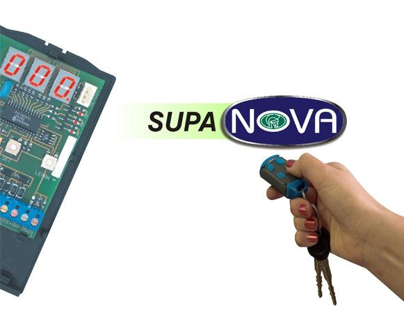 SUPANOVA - VERSATILE MULTI-USER REMOTE CONTROL RECEIVER  security products in  (South Africa)