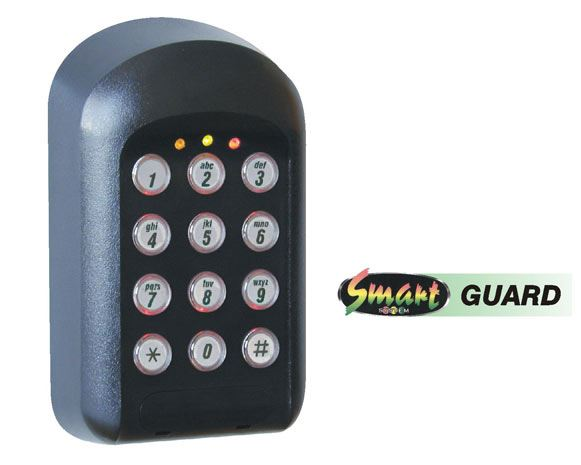 SMARTGUARD - HARD-WIRED ACCESS CONTROL KEYPAD security products in  (South Africa)