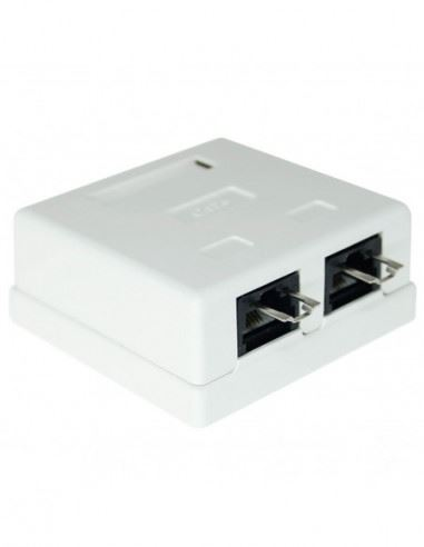 n CAT6 Wall Box - Dual RJ45 security products in  (South Africa)