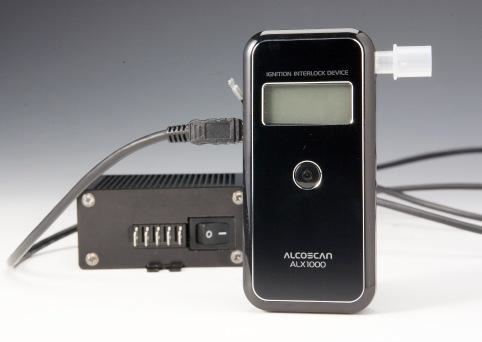 Alcoscan ALX1000 Interlock Breathalyser security products in  (South Africa)