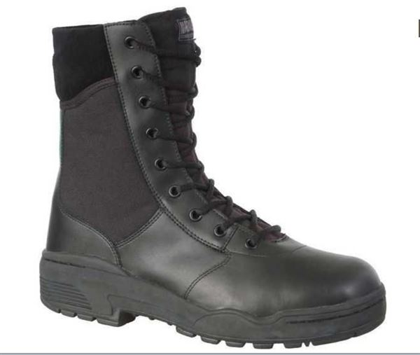 Black Security Boots