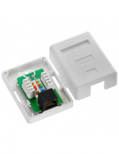 CAT5 Wall Box - Single RJ45 security products in  (South Africa)