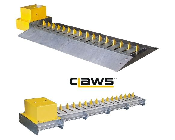 CLAWS - ROADWAY SPIKES FOR HIGH SECURITY ACCESS CONTROL
