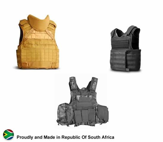 Combat Armour security products in  (South Africa)