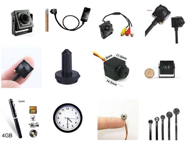 Covert / Spy / Mini  CCTV Cameras and Recorders as well as other Covert Systems and Covert Detection Equipment security products in  (South Africa)
