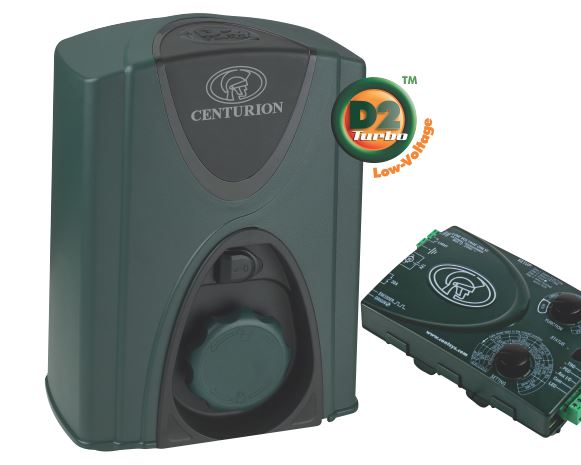 D2 TURBO LOW-VOLTAGE - DOMESTIC SLIDING GATE MOTOR security products in  (South Africa)