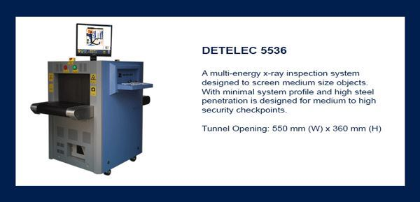 DETELEC X-ray Equipment security products in  (South Africa)