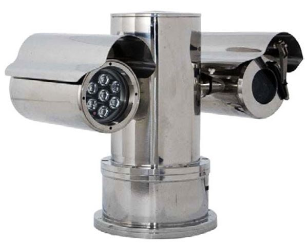 Explosion Proof PTZ CCTV Camera with Infrared Illumination