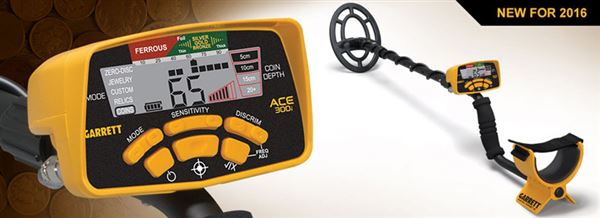 Garrett ACE 300i Metal Detector security products in  (South Africa)