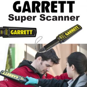 Garrett Super Scanner security products in  (South Africa)