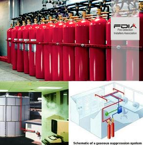 Gas Suppression Systems security products in  (South Africa)