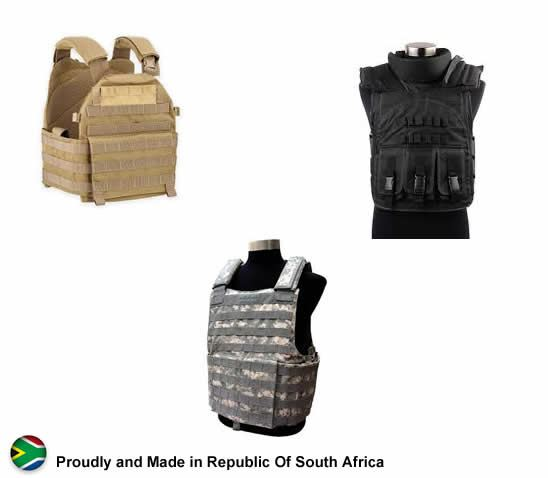 Military Armour security products in  (South Africa)