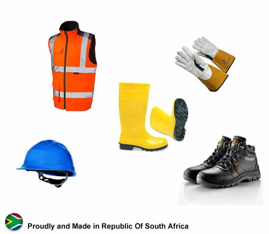 PPE Clothing security products in  (South Africa)