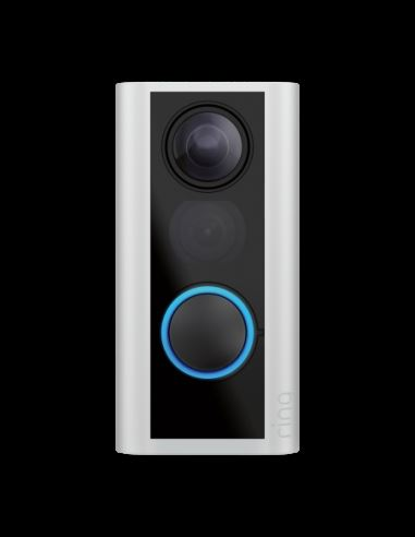 Ring Peephole Camera Satin Nikel (Doorview) security products in  (South Africa)