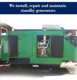 Standby Generator security products in  (South Africa)
