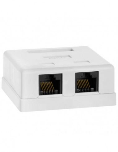 oom_in CAT5 Wall Box - Dual RJ45 security products in  (South Africa)