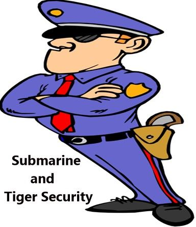 Submarine and Tiger Security